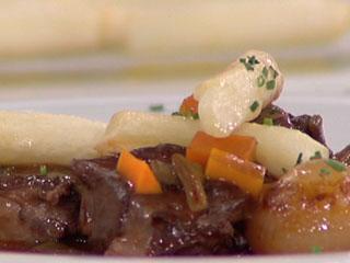 Saber cocinar - Cordero estofado con patatas