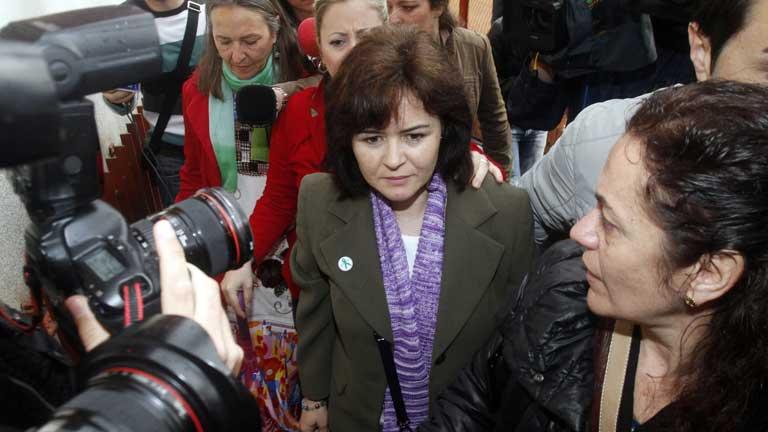 El juez escucha a Ruth Ortiz, la madre de los niños desaparecidos en Córdoba