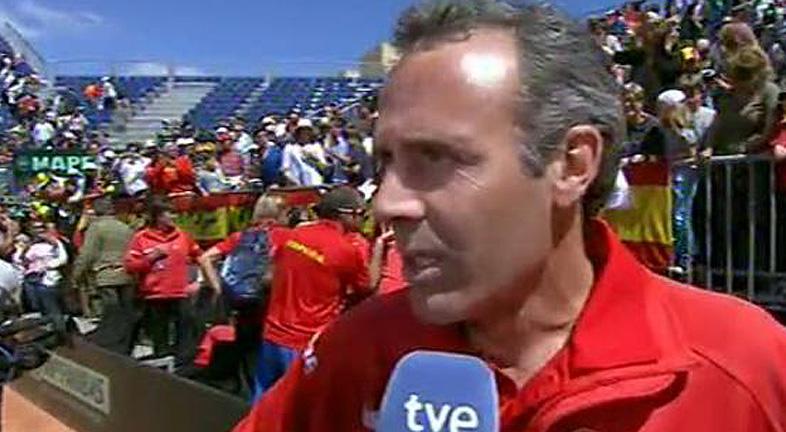 """Corretja: """"Ferrer ha logrado su recompensa"""""""