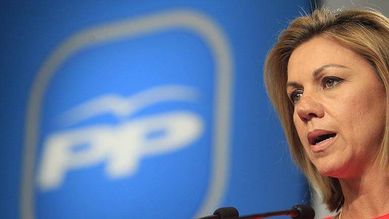 """Cospedal pide que no se dé """"un portazo sin más"""" a la reforma electoral"""