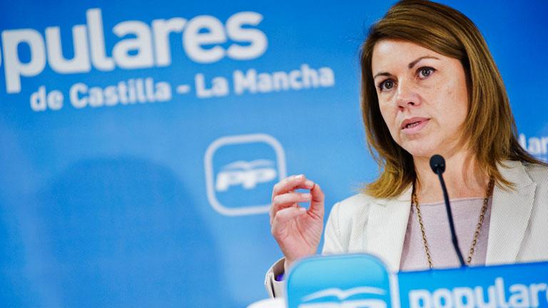 Cospedal: las reformas se harán con o sin el PSOE