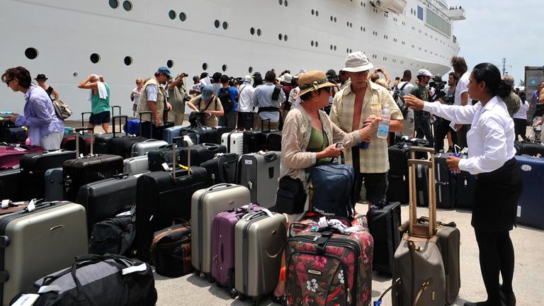 El Costa Allegra llega a las Seychelles
