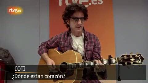 Coti presenta su nuevo disco en RTVE.es