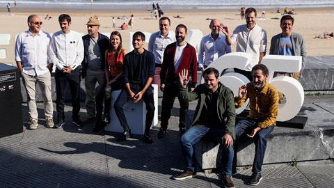 Ir al VideoLos creadores de 'Loreak' presentan en San Sebastián 'Handia', una película de época sobre el gigante de Altzo