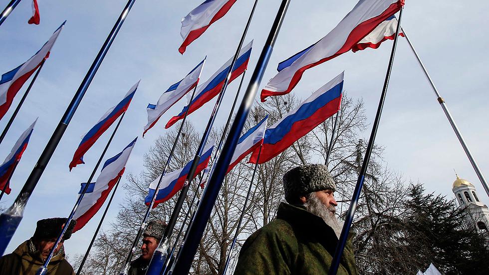 Crimea celebra el primer aniversario de su proclamación de independencia