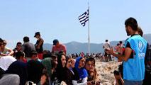 La crisis de los refugiados y la situación de Grecia marcan la celebración del Día de Europa