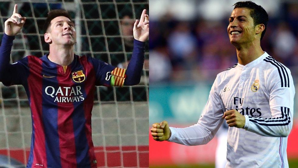 Cristiano, ante el difícil reto de alcanzar a Messi