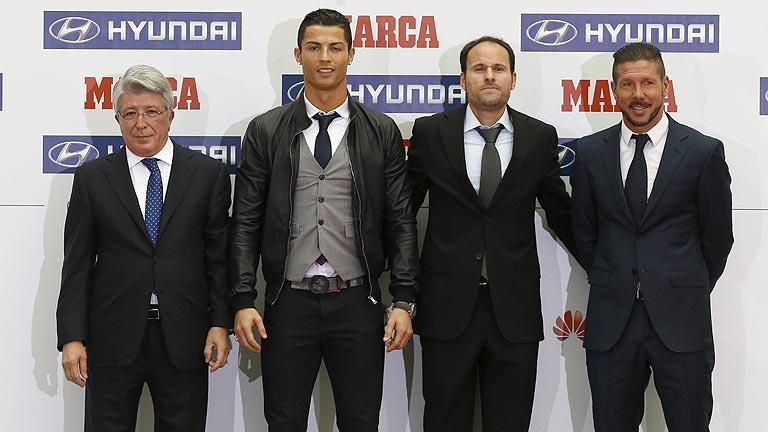 Cristiano y el Atlético, los mejores de la temporada 2013/2014