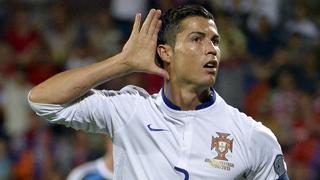 Cristiano, 'hat trick'; Alemania golea 0-7 a Gibraltar