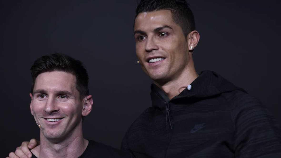 "Cristiano: ""No pensaba igualar a Messi"""