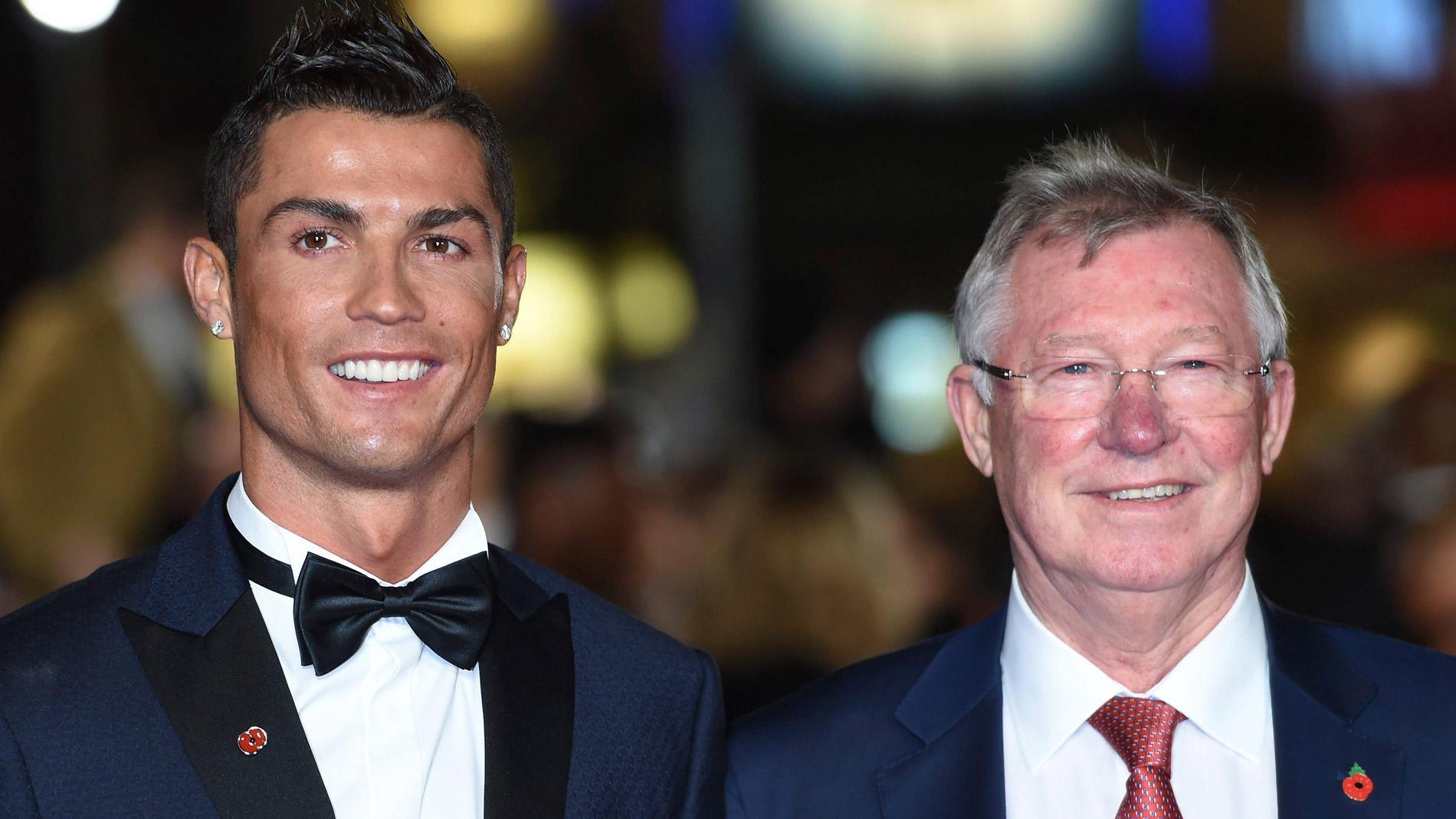 Cristiano Ronaldo, elogiado por sus entrenadores
