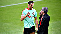 Ir al VideoCristiano Ronaldo rebaja la euforia portuguesa antes de medirse a Gareth Bale