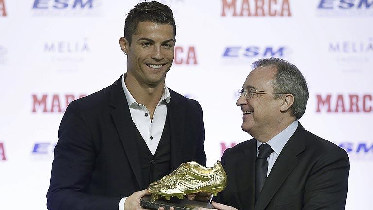 """Cristiano Ronaldo recibe la Bota de Oro: """"Quiero ser el mejor de siempre"""""""