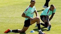 Ir al VideoCristiano Ronaldo ya está concentrado con la selección portuguesa