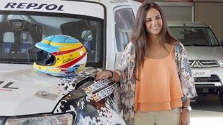 Cristina Gutiérrez, una campeona precoz que aspira a correr el Dakar