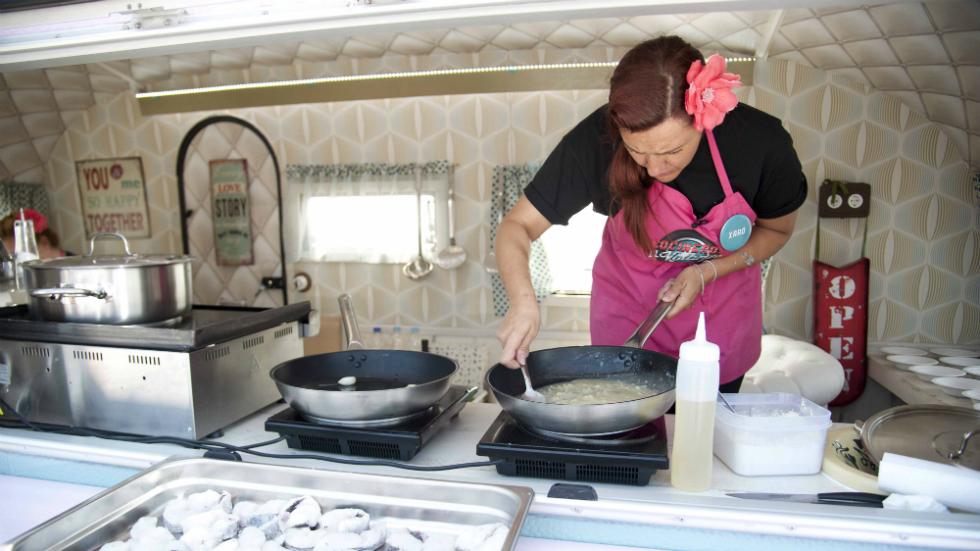 Cocineros al Volante - ¡Cristina y Xaro a la gresca por la salsa verde!