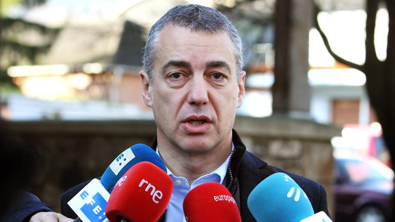 Los partidos políticos vascos han criticado el mensaje de fin de año del Lehendakari