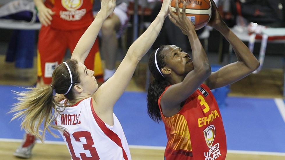 Croacia 52 - España 95