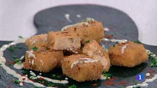 Cocina con Sergio -  Croquetas de chorizo con queso