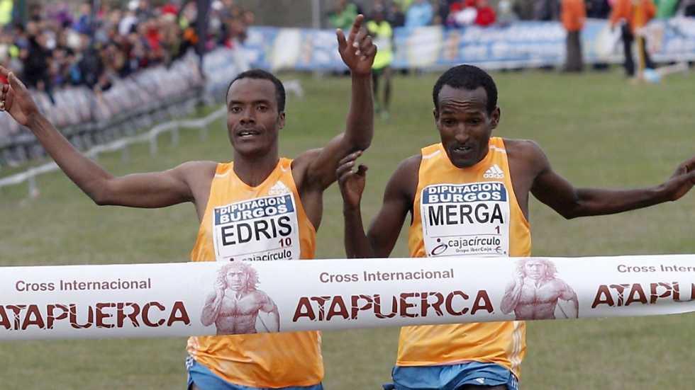 Atletismo - Cross de Atapuerca: carrera masculina