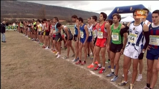 Atletismo - Cross campo a través Internacional de Soria - Carrera masculina