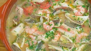 Torres en la cocina - Cruet de pescado y marisco