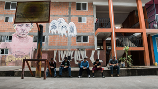 Cruzar la frontera sur, un infierno para los migrantes centramericanos