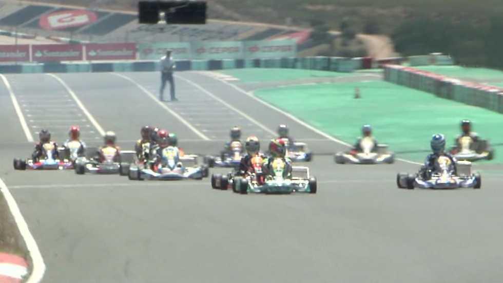 Automovilismo - Campeonato de España de Karting. Prueba Portimao