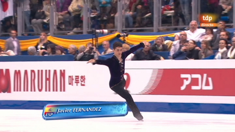Patinaje artístico - Campeonato del mundo. Prog. Libre masculino (2) - 31/03/12