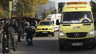 La cooperante española con riesgo de ébola ya está en el Carlos III