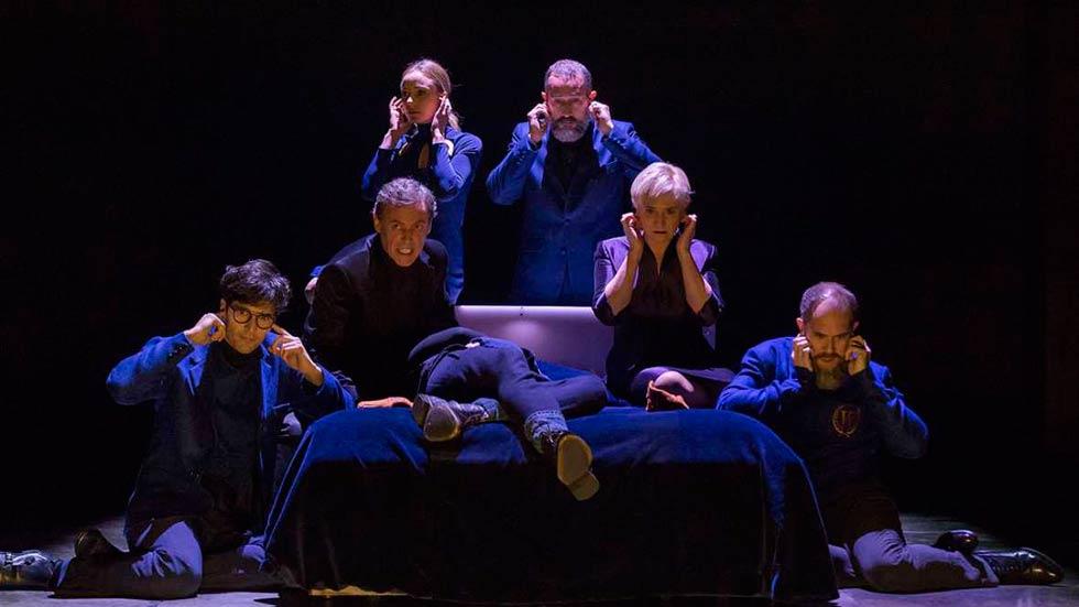 En el cuarto centenario de la muerte de Shakespeare llega a Madrid una nueva versión de Hamlet