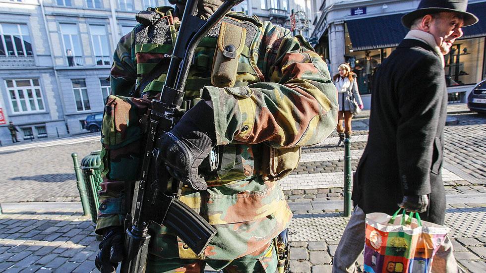 Cuatro detenidos en Bélgica en una operación contra una red de reclutamiento yihadista