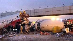 Cuatro muertos en un accidente aéreo en Moscú
