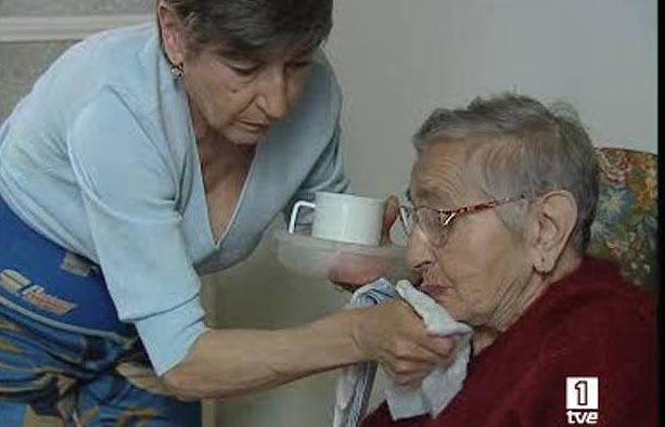 Cuidadoras de dependientes