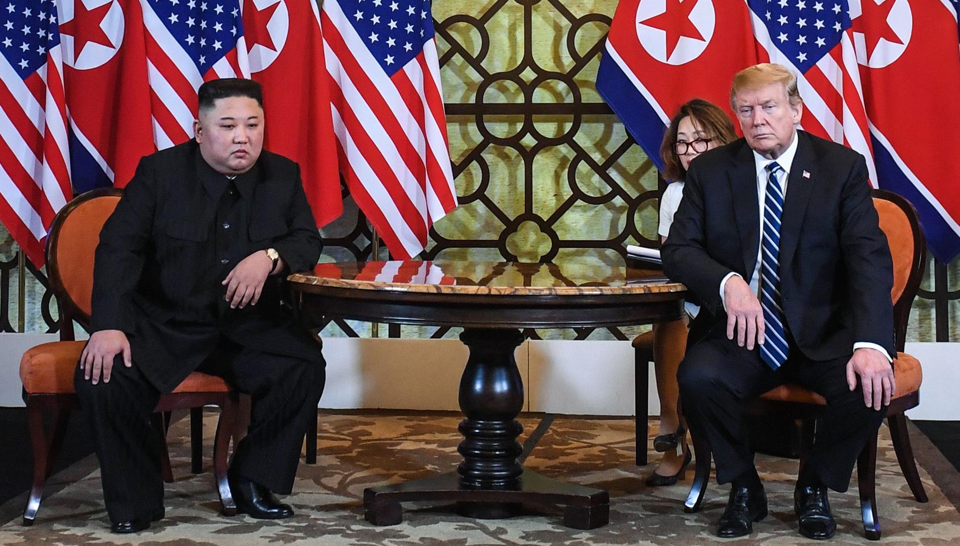 Ir al VideoLa cumbre de Trump y Kim Jong-un en Vietnam termina sin acuerdo