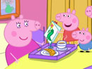 Imagen del  vídeo de Peppa Pig titulado EL CUMPLEAÑOS DE MAMÁ PIG