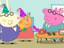 Imagen del  vídeo de Peppa Pig titulado EL CUMPLEAÑOS DE PAPÁ PIG
