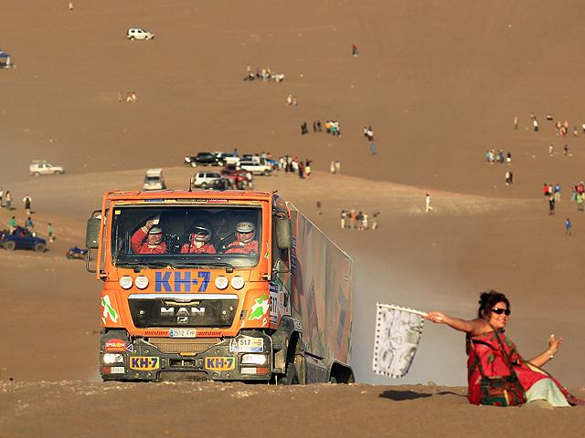 El Dakar desde un camión