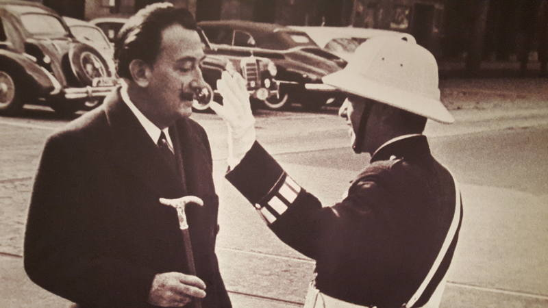 Dalí era, i encara darrerament també és, un popular focus d'atenció mediàtica
