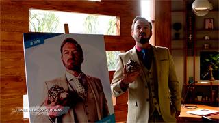 Olmos y Robles - ¡Damián, ya tiene cartel electoral!