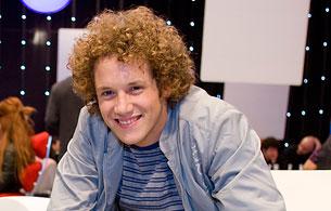 Eurovisión 2010 - Daniel Diges meditando