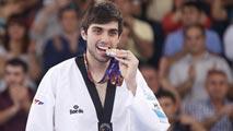 Daniel Ros logra en el bronce +80 kilos de taewkwondo en Bakú
