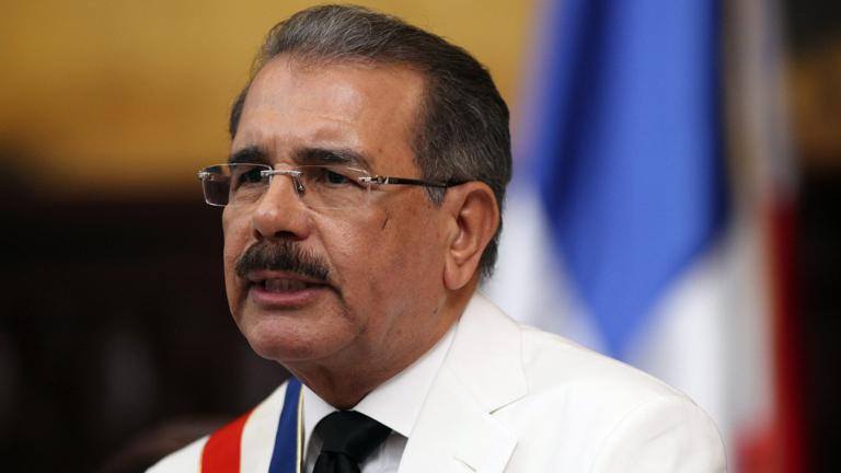 Danilo Medina toma posesión como presidente de República Dominicana