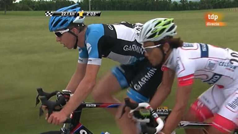 Ciclismo - Dauphiné Liberé. Primera etapa - 04/06/12