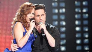 Eurovisión 2012 - David Bustamante y Pastora Soler