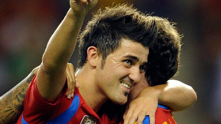 David Villa renuncia a estar en la Eurocopa