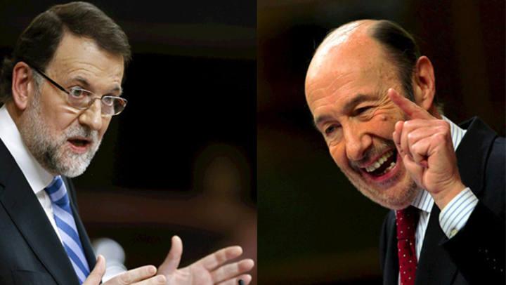 El Debate Rajoy-Rubalcaba