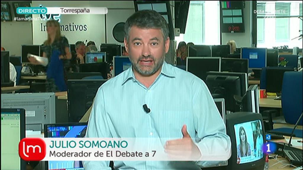 Debate a siete en TVE