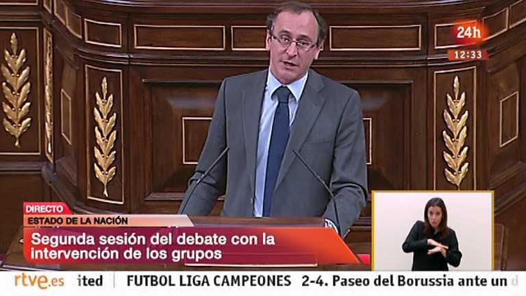 Debate sobre el estado de la Nación 2014 - Alfonso Alonso, PP