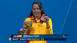 Deborah Font, bronce en los 400 metros libres